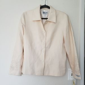 Pendleton dress coat with sleeve decorations
